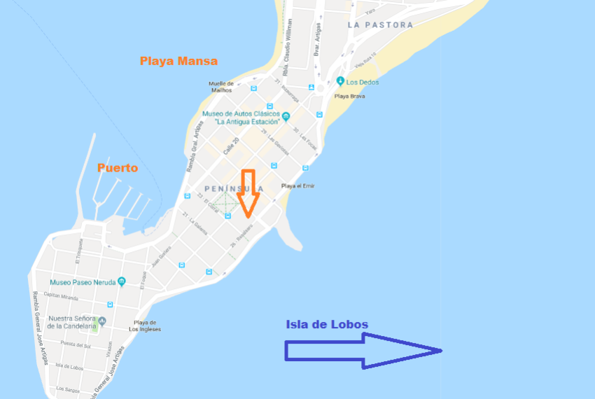 Plano Península Lirio