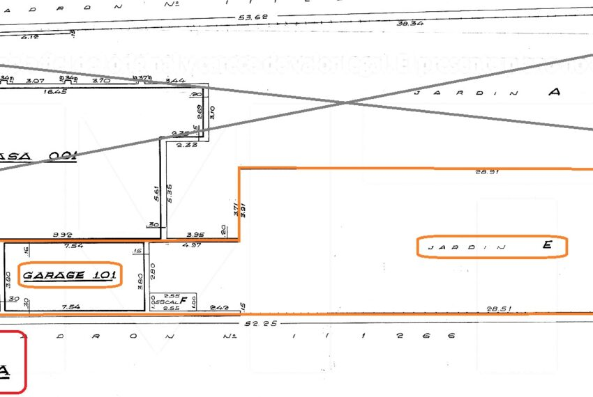 plano planta baja Arocena Pauline