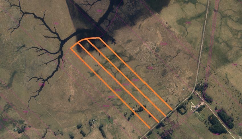 Foto Aérea Terrenos Ruta 10 km. 264