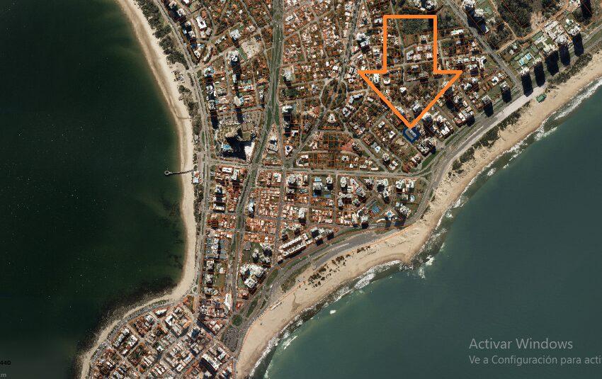 Vista aérea ubicación
