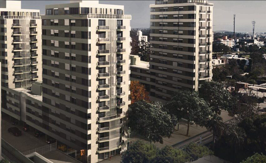 edificios foto aérea