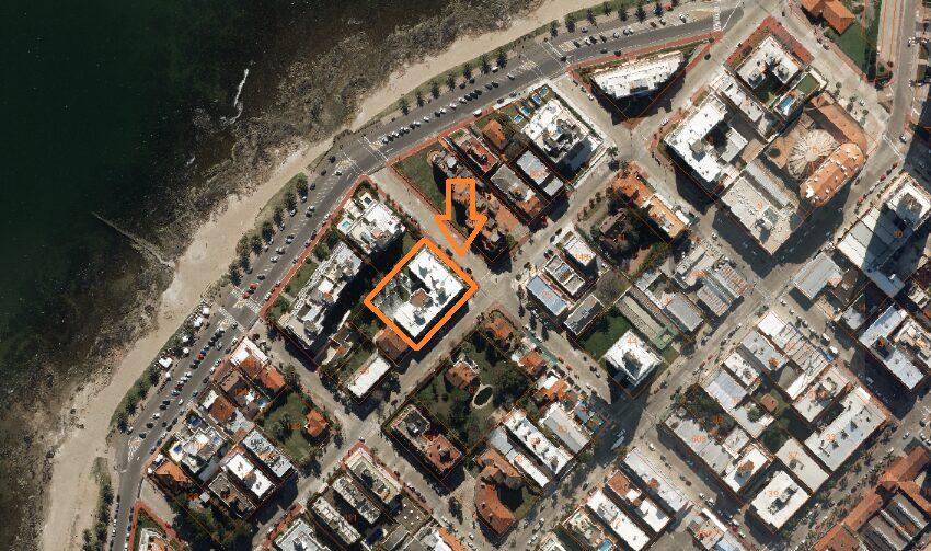 foto aérea ubicación