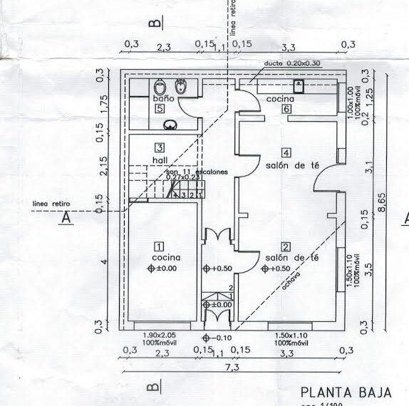 Planta Baja Casa Dulce