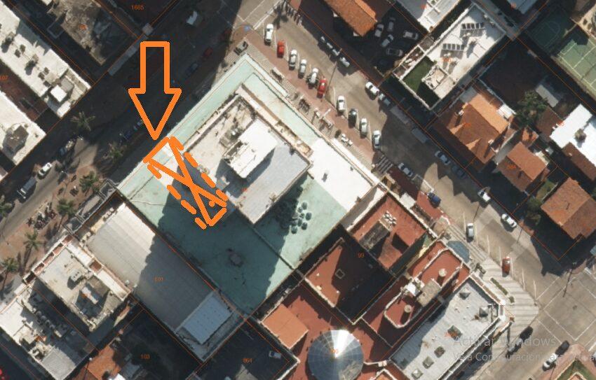 foto aérea torre gorlero