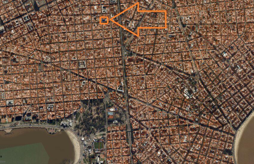 foto aérea ubicación edif. barrio