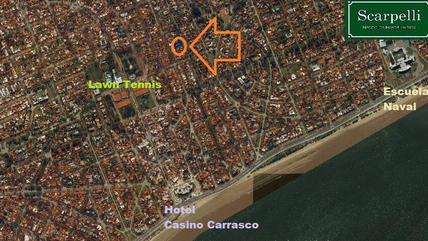 ubicación en Carrasco