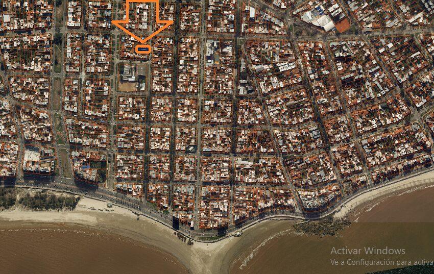 foto aérea barrio