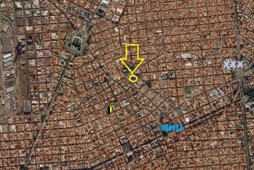 foto aèrea ubic La Paz y Arenal Grande