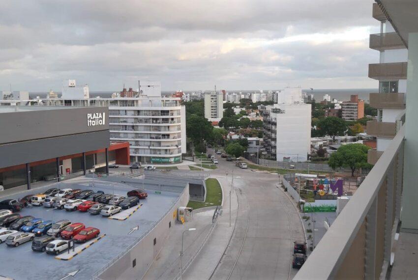 vista a Plaza Italia