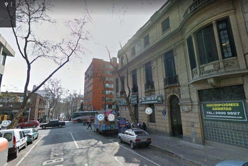 fachada x Río Branco esq. Uruguay