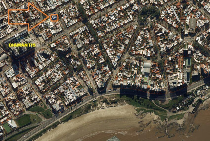 foto aérea entorno