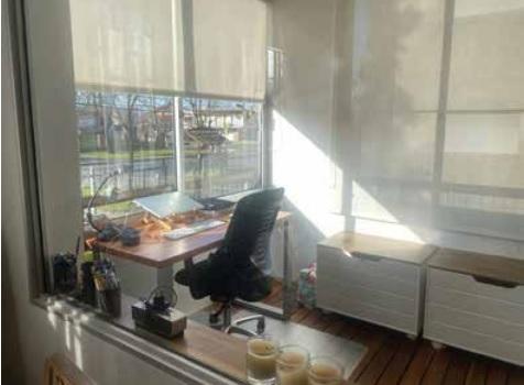 terraza cerrada escritorio